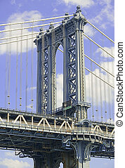 Manhattan Bridge, New York City