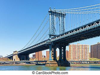 Manhattan bridge over East River