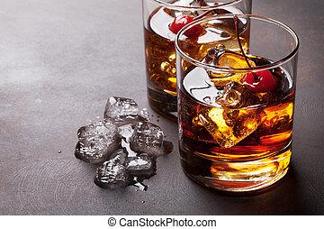manhattan, cocktail