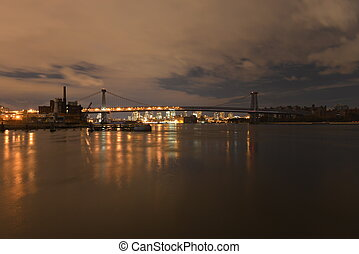Manhattan following Power Outage - View of Manhattan from ...