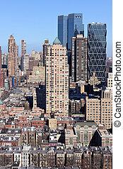 Manhattan Midtown Impressions Portrait