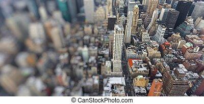 manhattan, new york, city., usa.