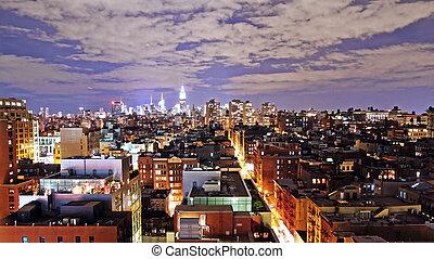 Manhattan, noche
