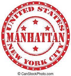 Manhattan-stamp