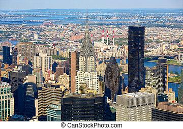 Manhattan urban architecture