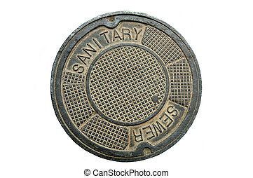 Manhole Cover 2 - Manhole Cover (12MP camera, isolated)