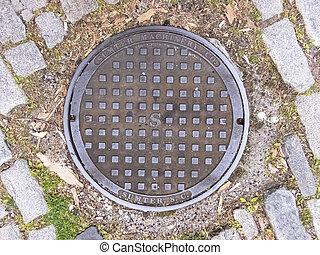 Manhole Cover in Charleston, South Carolina