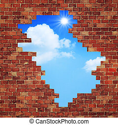 manière, freedom., résumé, arrière-plans, conception, architectural, ton