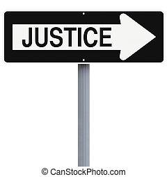 manière, justice, ceci