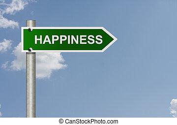 manière, ton, bonheur