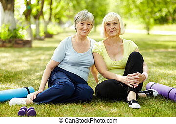 manière vivre seniore