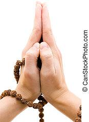 mani, preghiera