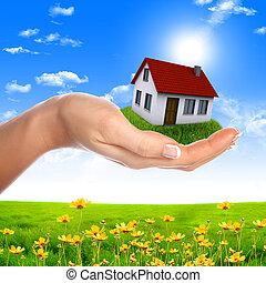 mani, presa a terra, casa