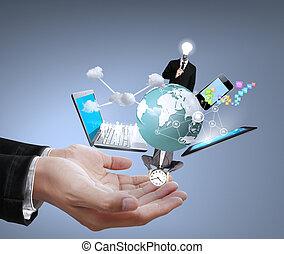 mani, tecnologia