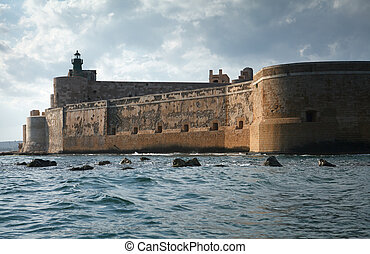 Maniace Castle in Sicily
