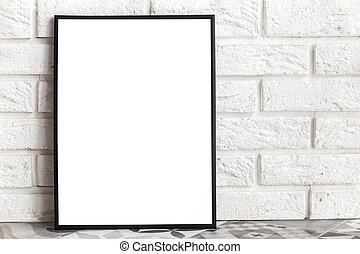 manichino, vuoto, minimalista, cornice, interno