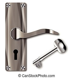 manico porta, chiave