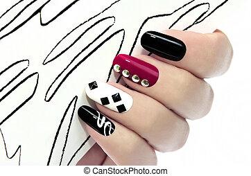 manicure., gráfico