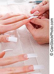 manicure, tratamento