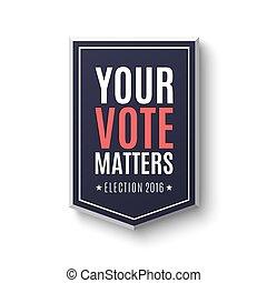 manifesto, 2016, elezione, template.