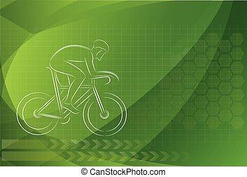 manifesto, bicycles, disegno