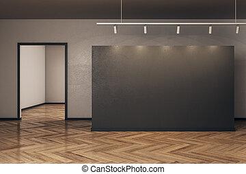 manifesto, contemporaneo, vuoto, galleria