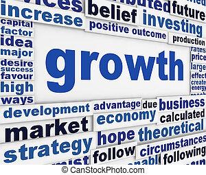 manifesto, crescita, disegno