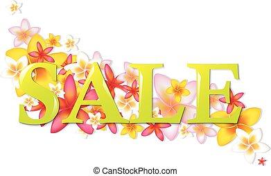 manifesto, fiori, vendita