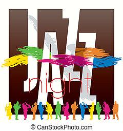manifesto, jazz, sagoma