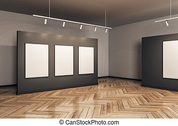 manifesto, lusso, vuoto, galleria