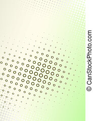 manifesto, marrone-verde, fondo