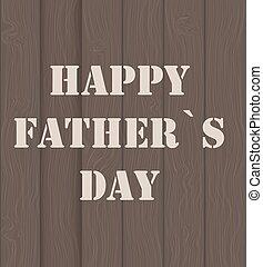 manifesto, padre, illustrazione, vettore, giorno, scheda, felice