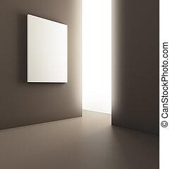manifesto, stanza moderna