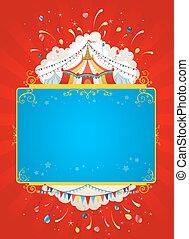 manifesto, tenda circus