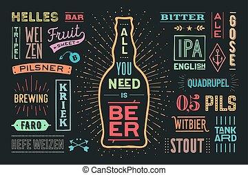 manifesto, tutto, lei, birra, nees