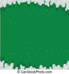 manifesto, verde, inverno, natale