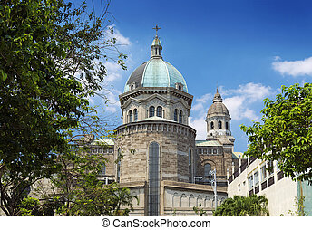 manila, catedral, en, phillipines