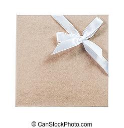 Manila folder isolated on white