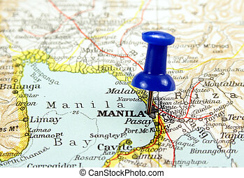 Manila, Philippines, the way we looked at it in 1949.