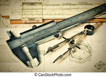 manipulation, redskaberne, på, teknisk udtrækning