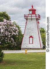 Manitowaning Lighthouse on Manitoulin Island