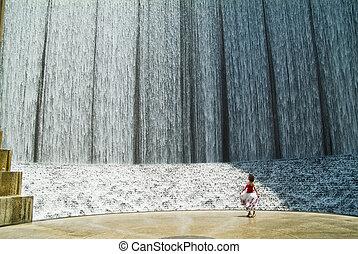 Manmade Waterfall 1