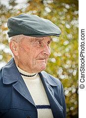 mann, senioren