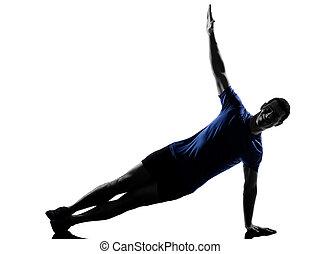 mann- trainieren, workout