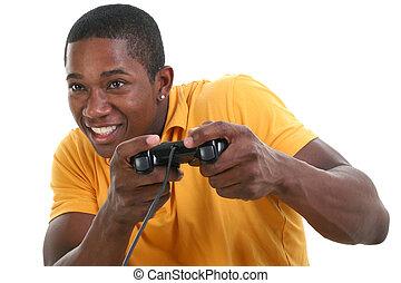 mann, videospiel