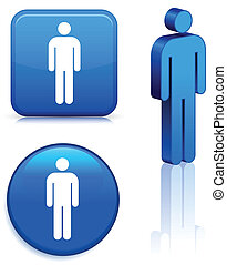 mannelijke , staafje cijfer