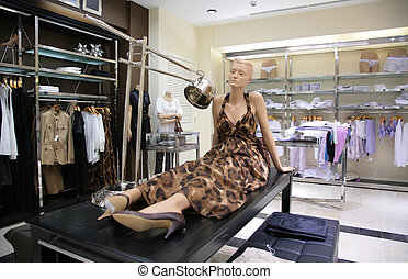 mannequin, loja