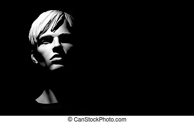 mannequin - head of the mannequin