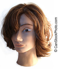 mannequin - a close-up on a mannequin