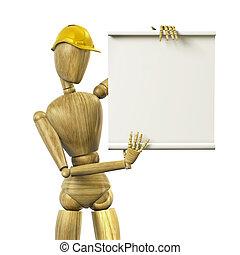 Mannequin worker